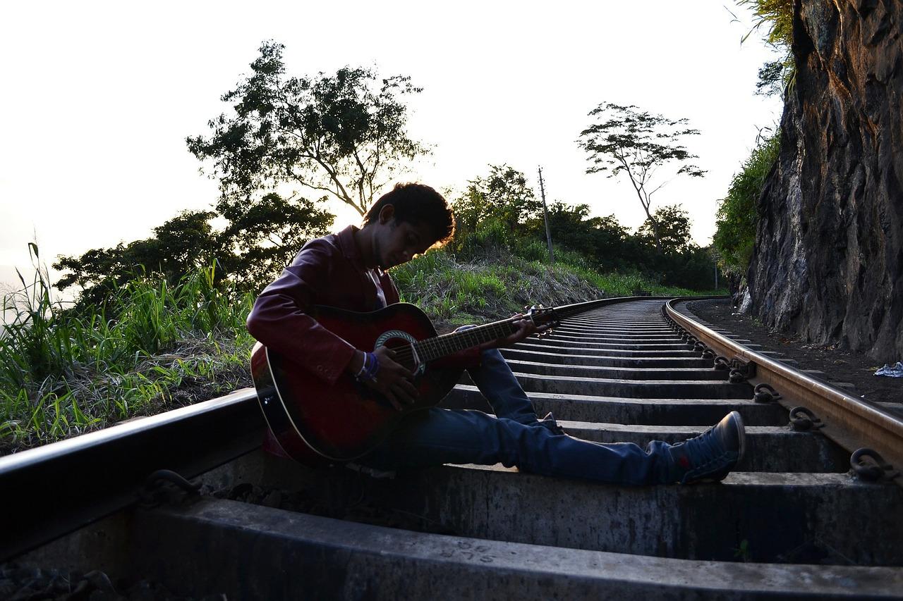 Piosenki turystyczne na gitarze
